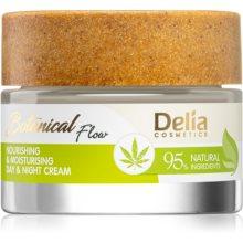 Delia Cosmetics Botanical Flow Hemp Oil Crème Nourrissante Et Hydratante Notino Fr