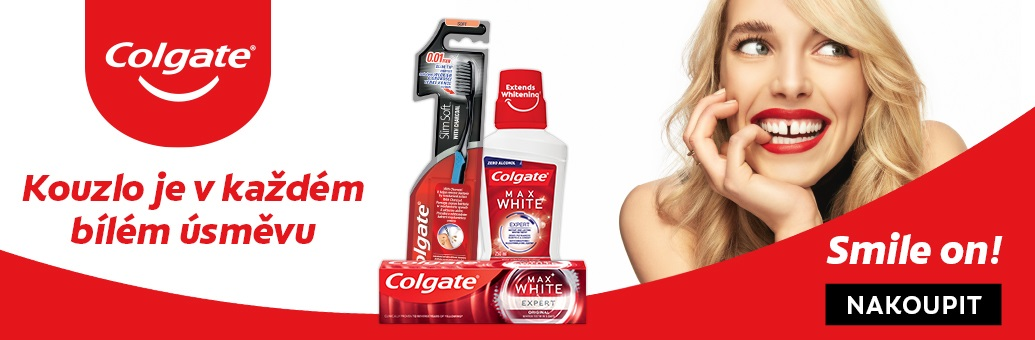 Colgate_obecný banner- Colgate Max White