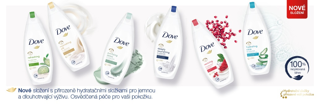 Dove_sprchové gely