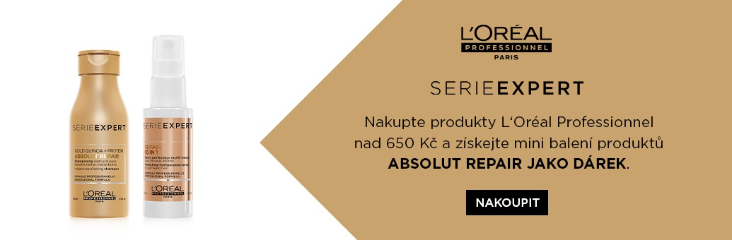 W3 Loreal Pro Absolu Repair Shampoo+Spray GWP