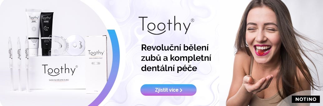 Toothy banner