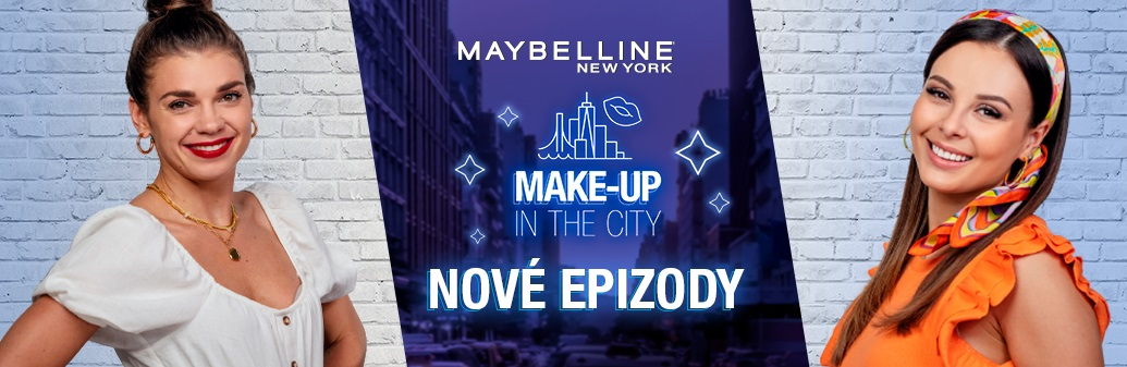 Maybelline Make-up in the city