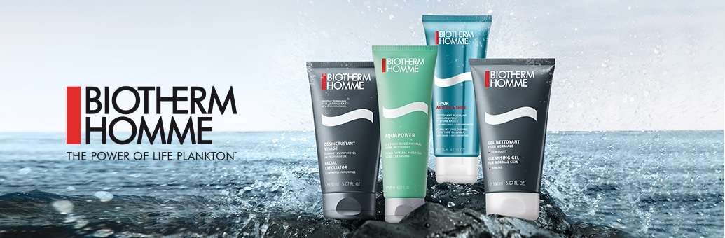 biotherm homme cleansers}