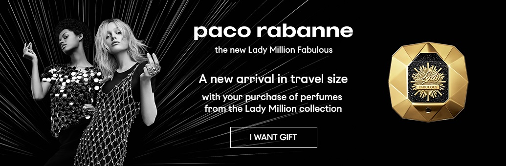 Paco Rabanne Lady Million Fabulous}