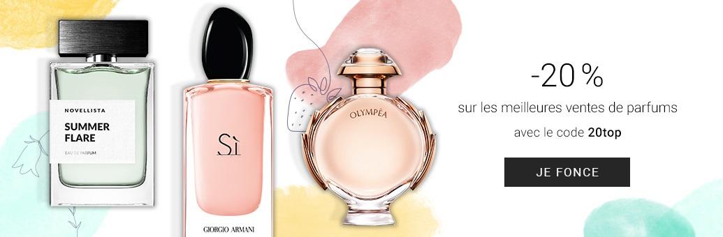 Les 20 parfums femme les plus vendus en - Prime Beauté