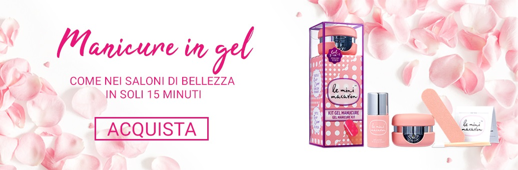 Le Mini Macaron Gel Manicure Kit}