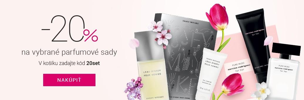 Shiseido Fragrance sety 20% sleva