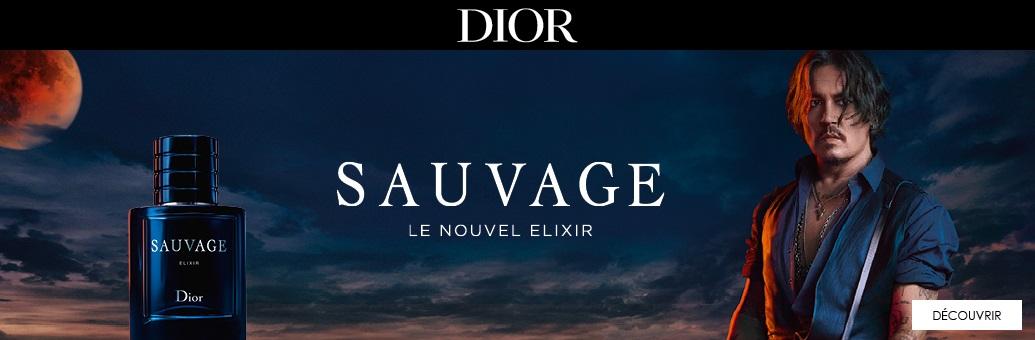 DIOR Sauvage Elixir extrait de parfum pour homme}
