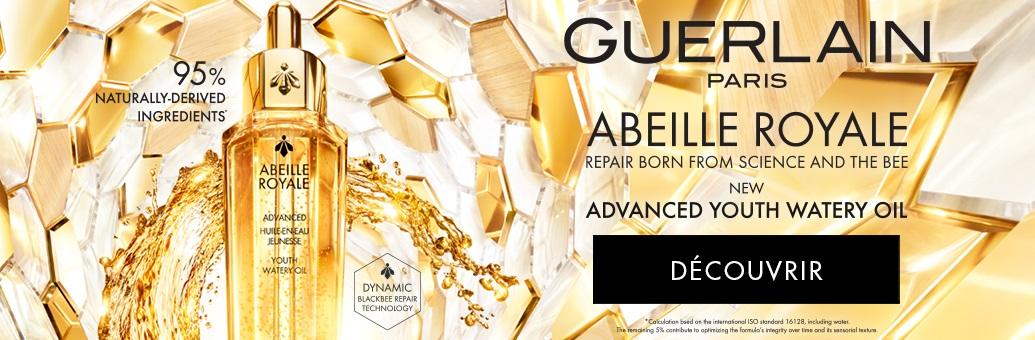GUERLAIN Abeille Royale Advanced Youth Watery Oil sérum à l'huile pour une peau lumineuse et lisse}