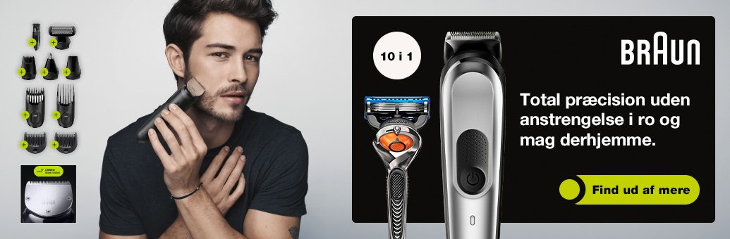 Braun All-in-One Trimmer }