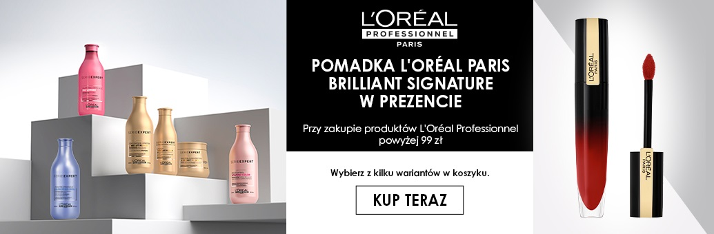 W31 Loreal Pro Loreal Paris lipstick GWP}