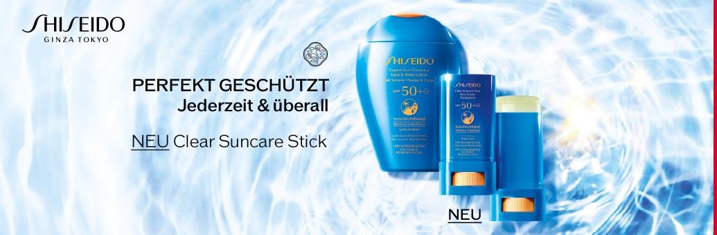 Shiseido Sun Care Products