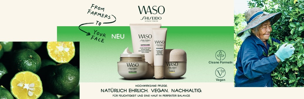 Shiseido WASO Cosmetics