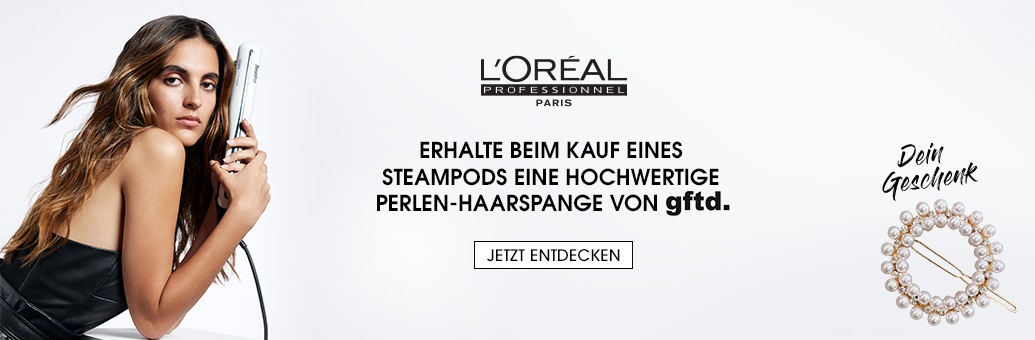 W15 Loreal Pro Steampod Hairpin GWP