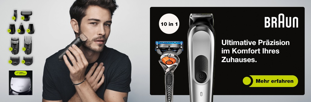 Braun All-in-One Trimmer