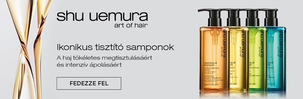 Shu Uemura čistici šampony 2020