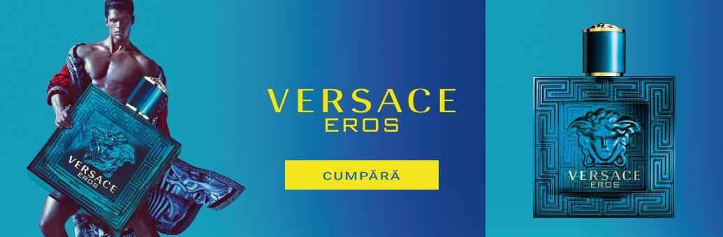 Versace Eros Eau de Toilette pentru bărbați}