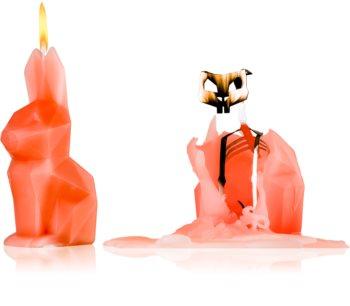 54 Celsius PyroPet HOPPA (Bunny) dekoratívna sviečka peach