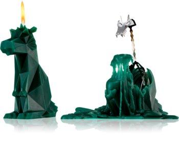 54 Celsius PyroPet DREKI (Dragon) decorative candle green