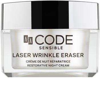 AA Cosmetics CODE Sensible Laser Wrinkle Eraser regenerační noční krém
