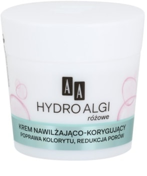 AA Cosmetics Hydro Algae Pink hydratační krém pro vyhlazení pleti a minimalizaci pórů