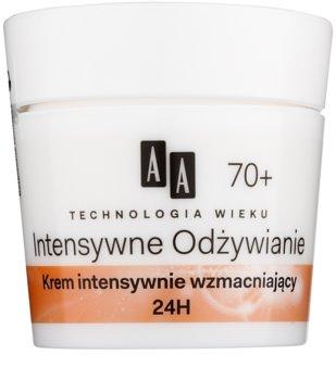 AA Cosmetics Age Technology Intensive Nutrition posilující krém na redukci vrásek 70+