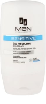 AA Cosmetics Men Sensitive chladivý gel po holení