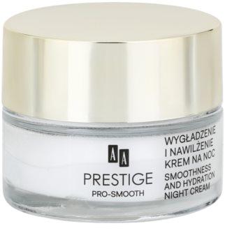 AA Prestige Pro-Smooth noční vyhlazující krém s hydratačním účinkem