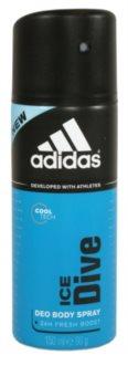 Adidas Ice Dive Deo-Spray für Herren 24 h