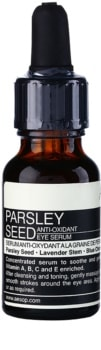 Aēsop Skin Parsley Seed Antioxidationsserum für die Augenpartien