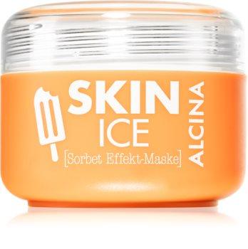 Alcina Skin Ice maschera sorbetto per il viso effetto rinfrescante