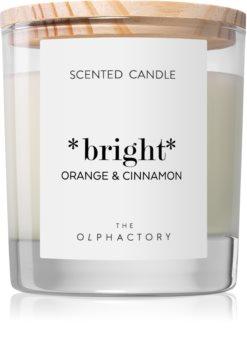 Ambientair Olphactory Orange & Cinnamon vonná sviečka (Bright)