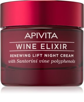 Apivita Wine Elixir Santorini Vine crema notte rigenerante con effetto lifting