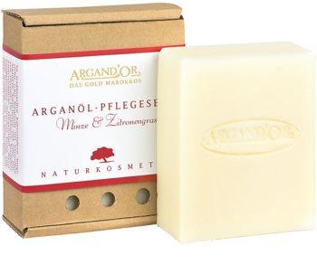 Argand'Or Care arganové mýdlo s vůní máty a citronové trávy