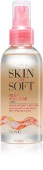 Avon Skin So Soft ulei de argan pentru corp