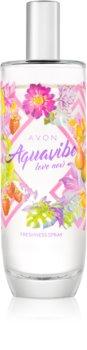 Avon Aquavibe Love Now tělový sprej pro ženy