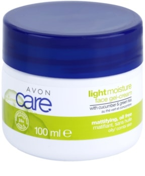 Avon Care osvěžující gelový krém s výtažky z okurky a zeleného čaje