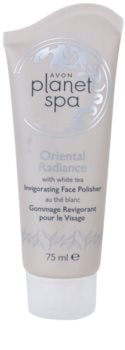 Avon Planet Spa Oriental Radiance scrub rinfrescante viso con the bianco