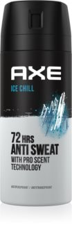 Axe Ice Chill spray anti-perspirant