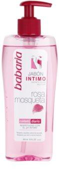 Babaria Rosa Mosqueta Gel pentru igiena intima gel de dus pentru femei pentru igiena intima cu extracte de trandafiri salbatici
