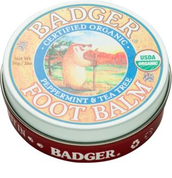 Badger Balm Feuchtigkeit spendender Balsam für trockene und rissige Füße
