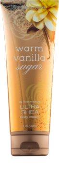 Bath & Body Works Warm Vanilla Sugar telový krém s bambuckým maslom pre ženy 226 g