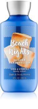 Bath & Body Works Beach Nights Summer Marshmallow tělové mléko pro ženy