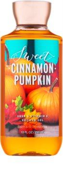 Bath & Body Works Sweet Cinnamon Pumpkin sprchový gél pre ženy 295 ml