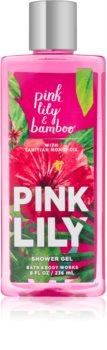 Bath & Body Works Pink Lily & Bambo sprchový gél pre ženy