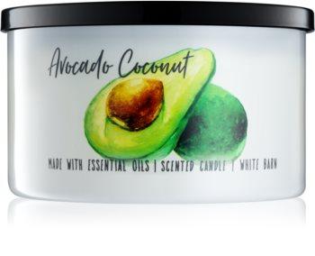 Bath & Body Works Avocado Coconut vonná svíčka 411 g