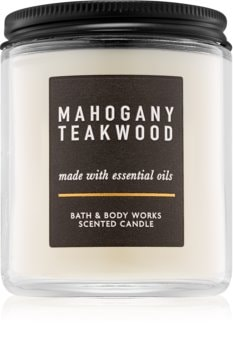Bath & Body Works Mahogany Teakwood vonná svíčka III.