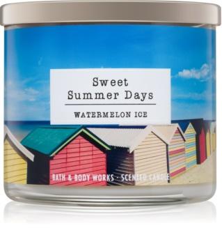 Bath & Body Works Watermelon Ice vonná sviečka Sweet Summer Days