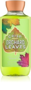 Bath & Body Works Crisp Orchard Leaves sprchový gel pro ženy 295 ml
