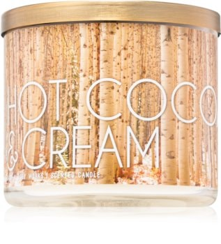 Bath & Body Works Hot Cocoa & Cream duftkerze  III.